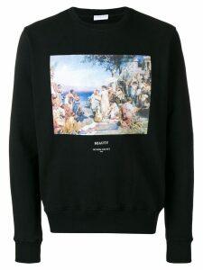Ih Nom Uh Nit print sweatshirt - Black