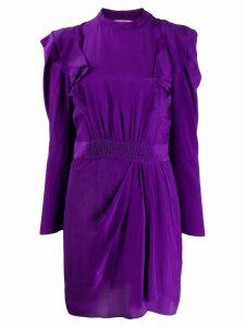 Isabel Marant Étoile frill trim dress - Purple