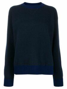 Sofie D'hoore knit colour combo sweater - Blue
