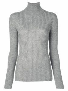 Alex Mill knitted roll-neck jumper - Grey