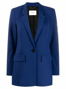 Dorothee Schumacher single-breasted fitted blazer - Blue