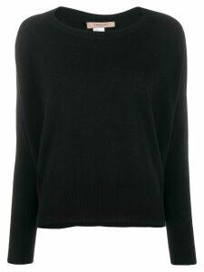 Twin-Set crew neck sweater - Black