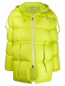 Acne Studios drawstring waist padded coat - Yellow