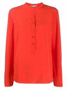 Stella McCartney long-sleeve button-down blouse - Red