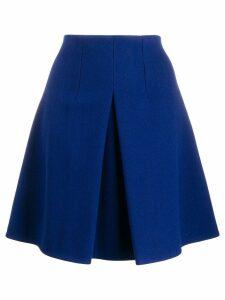 Dorothee Schumacher A-line mini skirt - Blue