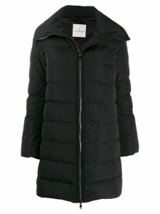 Moncler flared sleeve padded jacket - Black