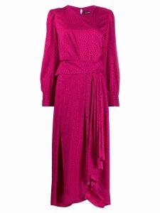 Isabel Marant Romina asymmetric dress - Pink