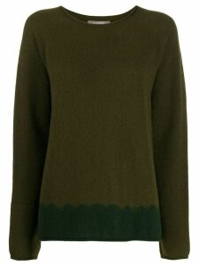 Suzusan relaxed-fit cashmere jumper - Green