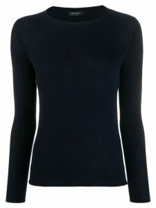 Aragona fine knit jumper - Blue