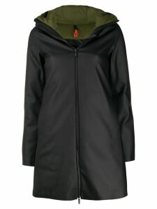 Rrd hooded waterproof coat - Black