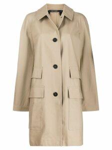 Sofie D'hoore compact trench coat - Neutrals