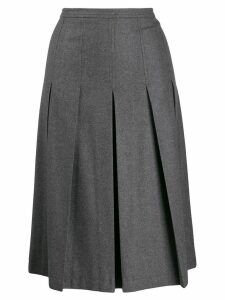 Red Valentino pleated midi skirt - Grey