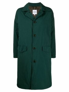 Aspesi Granata loose-fit raincoat - Green