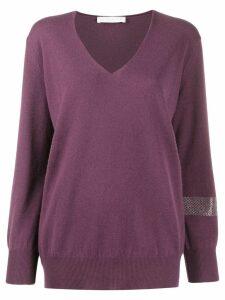 Fabiana Filippi V-neck jumper - Purple