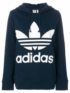 Adidas trefoil hoodie - Blue