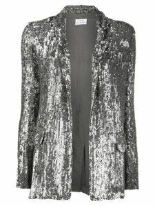 P.A.R.O.S.H. sequinned blazer - Silver