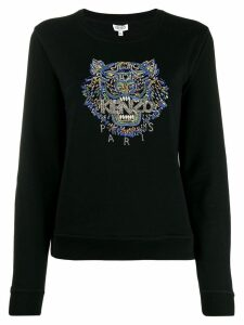 Kenzo Tiger hand-embroidered sweatshirt - Black