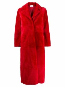 Red Valentino RED(V) oversized midi coat