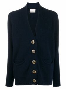 Aragona oversized button cardigan - Blue
