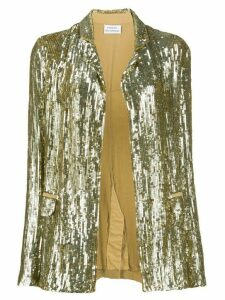P.A.R.O.S.H. sequinned blazer - Gold