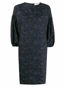YMC floral print dress - Blue
