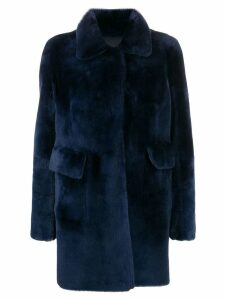 Desa 1972 reversible single-breasted coat - Blue
