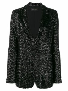 Fabiana Filippi embellished fitted blazer - Black