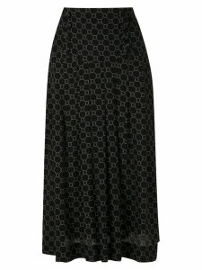Nk Rope Esther silk skirt - Black