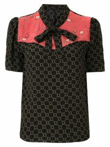Nk Blossom Nara embroidered blouse - Black