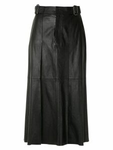 Nk Mestico Renata leather skirt - Black