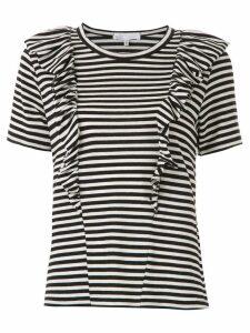 Nk John striped t-shirt - Black