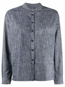 YMC long sleeved cotton shirt - Blue