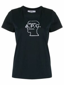 A.P.C. x Brain Dead T-shirt - Blue