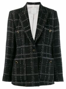 Sandro Paris tweed blazer - Black
