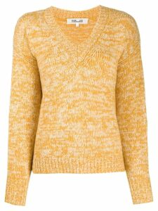 Diane von Furstenberg V-neck sweater - Yellow