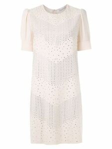 Nk Lumem Cassia embellished dress - White