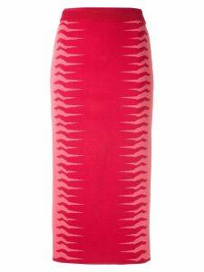 Nk Julia bicolor jacquard skirt - Multicolour