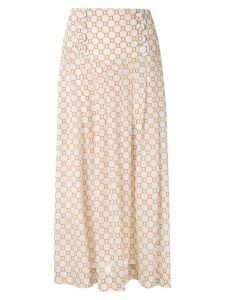 Nk Rope Esther midi skirt - NEUTRALS