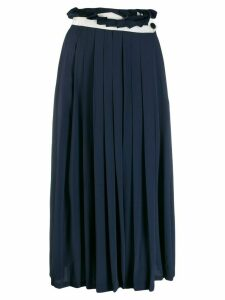 Golden Goose Hasu pleated midi skirt - Blue
