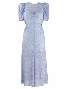 Alice McCall layered lace pattern dress - Blue