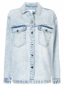 Nobody Denim Archer shirt jacket - Blue