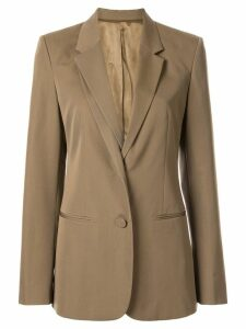 Helmut Lang layered-effect blazer - Brown
