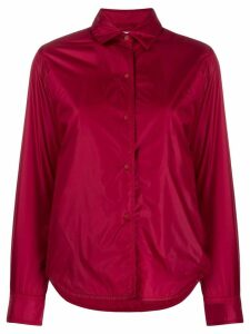 Aspesi press stud shirt jacket - Red