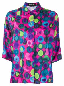 Styland dotted blouse - Pink