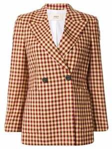 Ports 1961 check pattern blazer - Multicolour