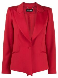 Styland peaked lapel blazer - Red