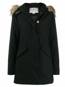 Woolrich hooded parka coat - Black
