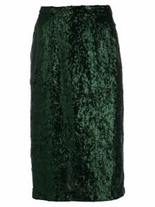 Nº21 sequin pencil skirt - Green