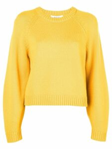 Milly crew neck jumper - Yellow