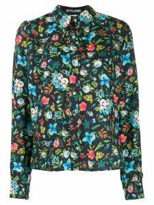 Styland floral print shirt - Blue